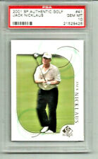 2001 SP Authentic Golf Jack Nicklaus #41 PSA 10