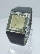 Philippe Starck PH5018 Rare men's luxury dresswatch black PH-5018 analog S+ark