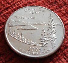 2005 USA United States of America Quarter Dollar Coin - Oregon D mint