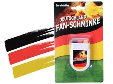 Maquillage Supporter Fan Allemagne Deutschland stick Noir Rouge Jaune (00/0609)