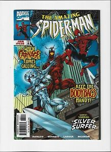 The Amazing Spider-Man #430 (Jan 1998, Marvel) NM (9.4) Carnage/Silver Surfer