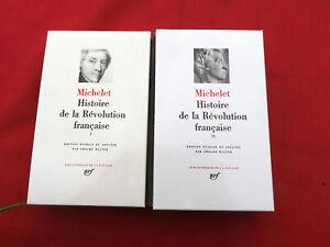PLEIADE  MICHELET Histoire de la Révolution Française 2/2  1989
