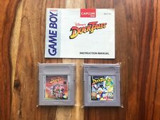 Disney's Ducktales + manual + part 2 Players Choice Nintendo Game Boy VERY GOOD