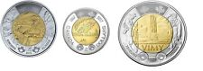 3 OF CANADA TOONIE $2 COINS: Battle of Vimy+Dance Canada+In Flanders Fields UNC