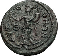TERMESSOS MAJOR in PISIDIA 2-3CenAD Zeus Genius Rare Ancient Greek Coin i58323