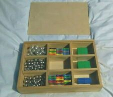 500+ Pieces Magnetic Building Sticks & Stainless Steel Ball Bearings + Wood Box