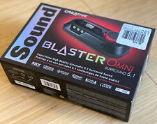 Creative Sound Blaster Omni Surround 5.1 USB Sound Card Headphone Amp