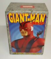 """Marvel Mini Bust 6"""" Giant-Man and the Wasp Very Low #0978 of 6500 NIB"""