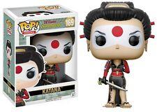Katana Bombshells DC Comics POP! Heroes #169 Vinyl Figur Funko