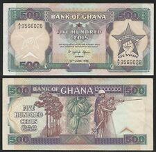GHANA - 500 Cedis 10.6.1994 XF Pick 28c