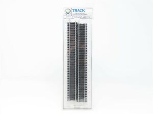 """HO Scale Bachmann #44112 9"""" Straight Track - 4 Pieces - Sealed"""
