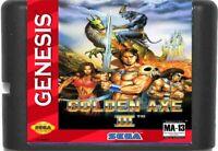 Golden Axe 3 (1993) 16 Bit Game Card For Sega Genesis / Mega Drive System