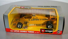 Burago 1/24 Lotus Honda Turbo 6107 Die-Cast Racing Car Scale Modell Auto NEU OVP