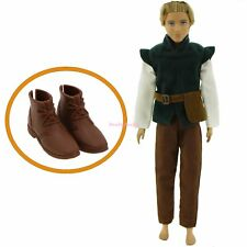 Prince Outfit Shoes Fairy Tale Clothes For Barbie Ken Doll Tangled  Hunter Gift