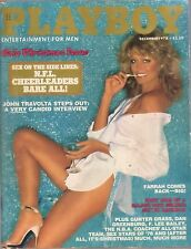 December 1978 Farrah Fawcett Playboy Janet Quist Cheerleaders John Travolta