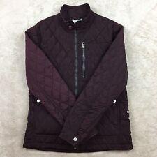Zara Man Full Zip Jacket Burgundy Size Medium