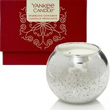 Yankee Candle Sparkling Cinnamon Boxed Orb Candle in Decorative Gift Box