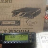 YAESU FT-8100H Dual-Band FM Mobile Transceiver 50W Modified w/Speaker [Defect]