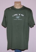 New York Jets Football NFL Team Apparel T-Shirt Green XL