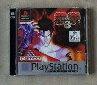 PS1 GAME - Tekken 3 + Ridge Racer 4 Collectors DEMO for Playstation 1