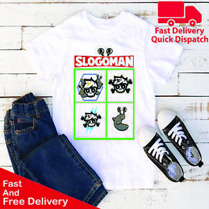 Kids Boys Girls Crazy Jelly T Shirt Youtuber Merch Gaming Jellytime Funny TeeTop