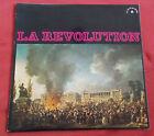 """LA REVOLUTION 25 CM / 10"""" CHANTS ET MARCHES CHANT DU MONDE"""