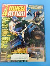 Vintage 3&4 Wheel Action Magazine August 1987 Dirt Wheels 3wheeling