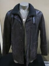 DANIER Men's Brown  Leather Blazer Jacket size M