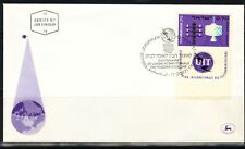 Israel, FDC 100 Jahre Intl. Fernmeldeunion MiNr. 343 Jerusalem, 21.07.1965