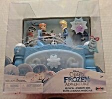 New Disney Olaf's FROZEN Adventure Musical Jewelry Box Anna & Elsa Move to Music