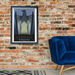 Germany The Land Of Music Wall Art Poster Print