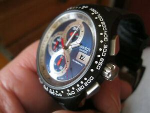 Swatch Irony Automatikchrono ETA C01.211 Gehäuse Drücker Werkhalter,case, pusher