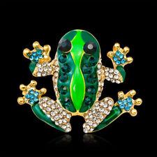 Shirt Brooch Pin Women Jewelry Delicate Women Brooch Frog Enamel Animal Insect