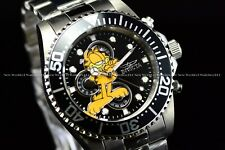 Invicta Men's 44mm Character Lim. Ed. Pro Diver GARFIELD Silver Black SS Watch
