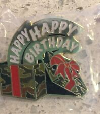 Wal-mart Pin - Walmart Happy Birthday Pin - Happy Birthday - New