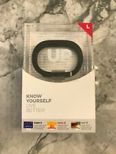 UP by Jawbone JBR52a Activity and Sleep Tracker - Large Size (L) NEW AND SEALED