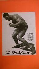 pubblicità advertising 1924 EL GRAFICO - BRISSET CAMPEON PERUANO - FORD