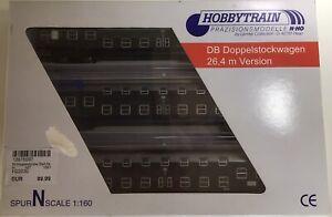 Hobbytrain DB Doppelstockwagen 3er Set H22030