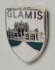 Glamis Queen Elizabeth Der Queen Mother Schottland Klein Crest Anstecker (0646)
