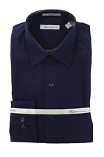 Men's KENNETH COLE Purple Striped NON IRON Dress Shirt 15.5 15 1/2 32/33 NWT NEW