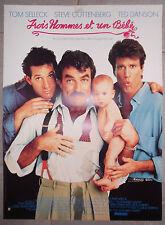 3 HOMMES ET UN BEBE 3 Men and a Baby TOM SELLECK Ted Danson 40x60cm
