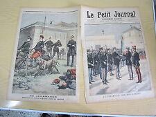 Le petit journal 1897 n° 351 Chiens de guerre contre cyclistes en allemagne