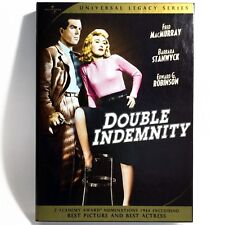 Double Indemnity (2- Disc Dvd, 1944, Universal Legacy Series Spec Ed) Like New !