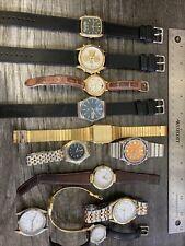 Lot Vintage Seiko Pulsar Watches H449 7t32 chrono 7123-823h diver 7f38 Titanium