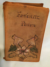 FAVORITE POEMS Lowell Browning Tennyson Shakespeare Wordsworth Poe Bryant 1890s