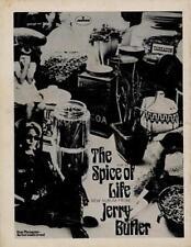 Jerry Butler UK LP/'45 advert #1 ABC