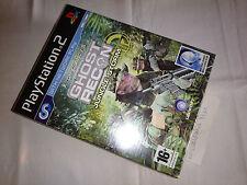 Tom Clancy's Ghost Recon: Jungle Storm (+Micrófono) PRECINTADO PAL ESP GER PS2