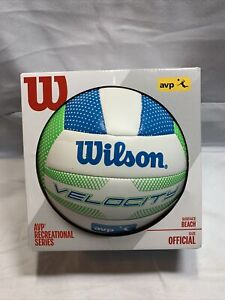 Wilson VELOCITY Volleyball Beach AVP Recreational Series Outdoor Official C1