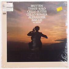 BRITTEN: Cello Suites BAILLIE lp SEALED Etcetera IMPORT LP Rare DMM Audiophile