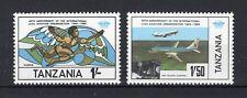TANZANIA Yt 247/248 MNH** 1984